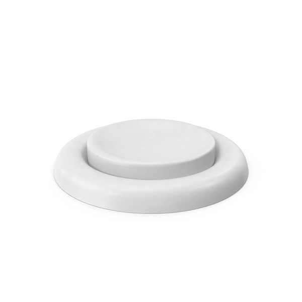 White Button Object