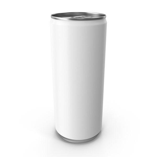 White Can 250ml PNG & PSD Images