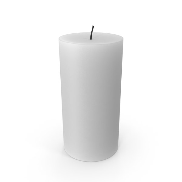 White Candle PNG & PSD Images