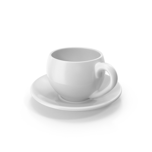 Teacup: White Coffee Cup PNG & PSD Images