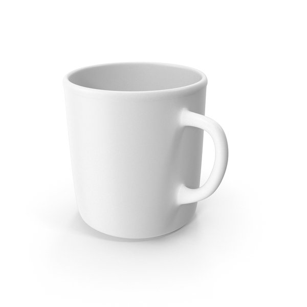 Zarf: White Coffee Cup PNG & PSD Images