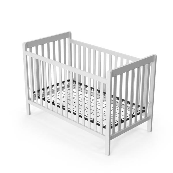 White Crib Object