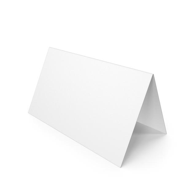 White Desk Paper Banner PNG & PSD Images