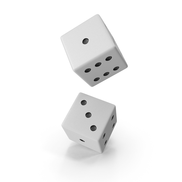 White Dice PNG & PSD Images