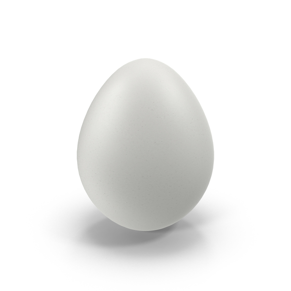 White Egg Object
