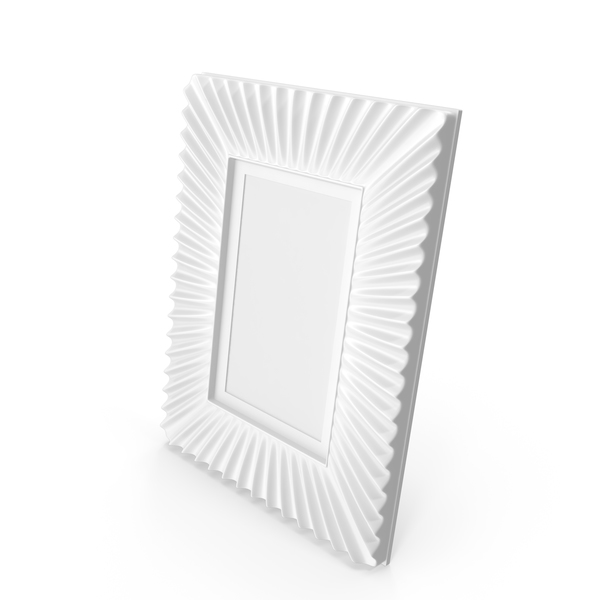 White Eichholtz Photo Frame PNG & PSD Images