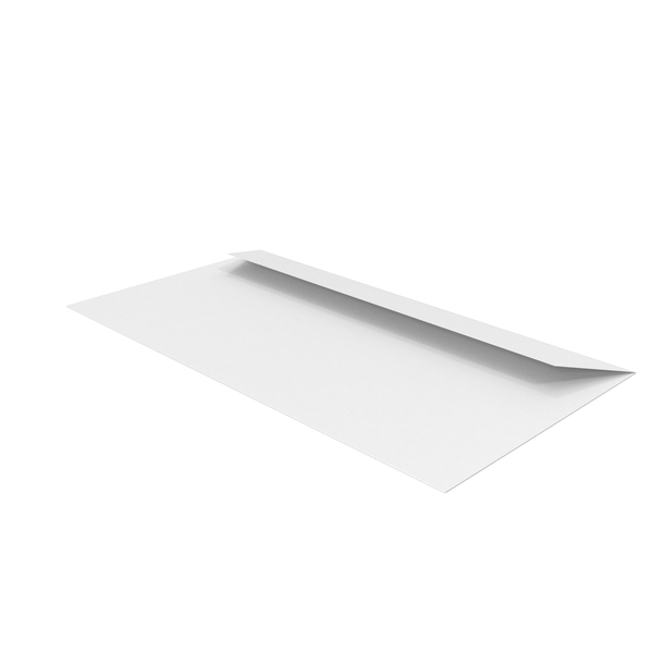 White Envelope PNG & PSD Images