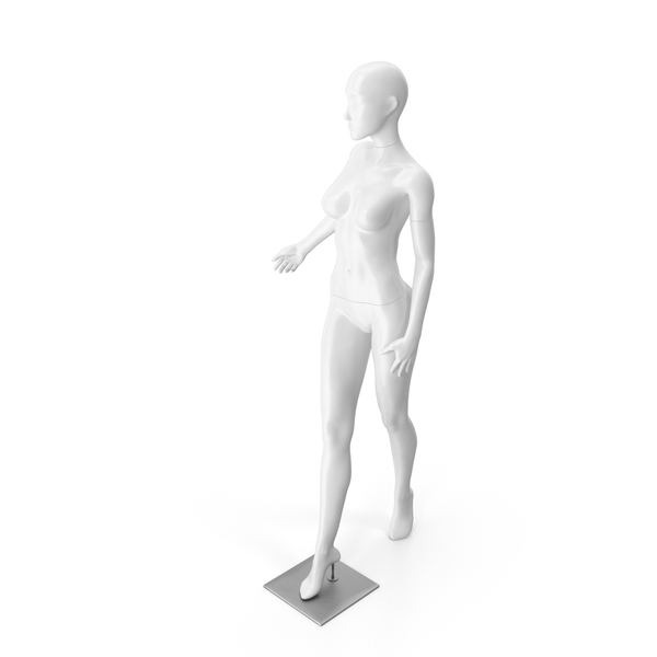Mannequin: White Female Dummy PNG & PSD Images
