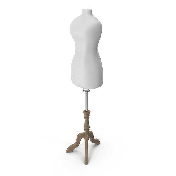 White Female Mannequin PNG & PSD Images