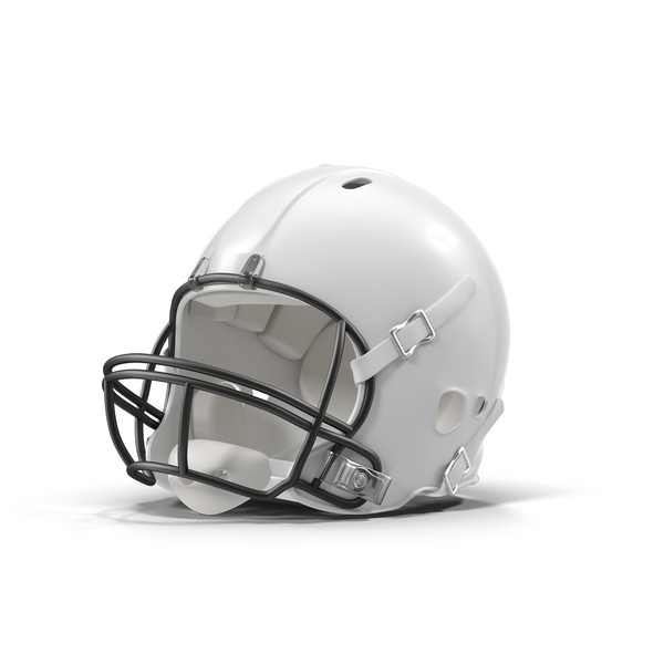 White Football Helmet PNG & PSD Images