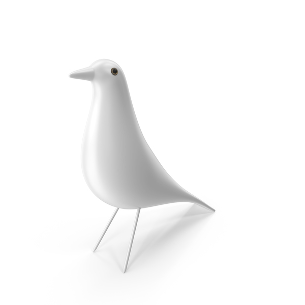 Statue: White House Bird By Charles Eames PNG & PSD Images
