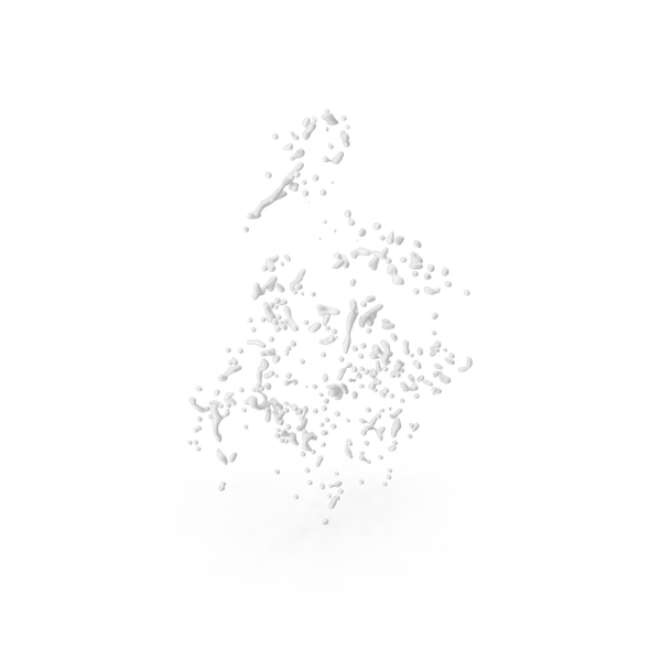 White Liquid Drops PNG & PSD Images