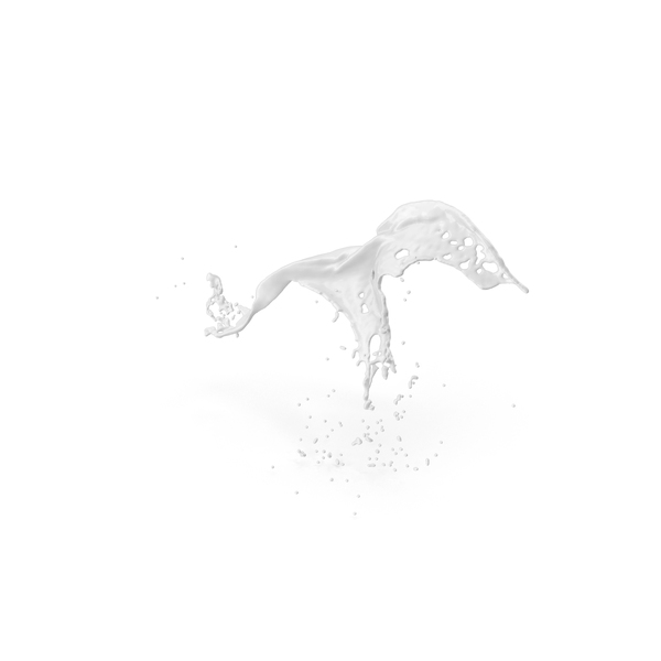 White Liquid Splash PNG & PSD Images
