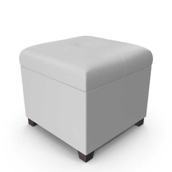 White Ottoman PNG & PSD Images