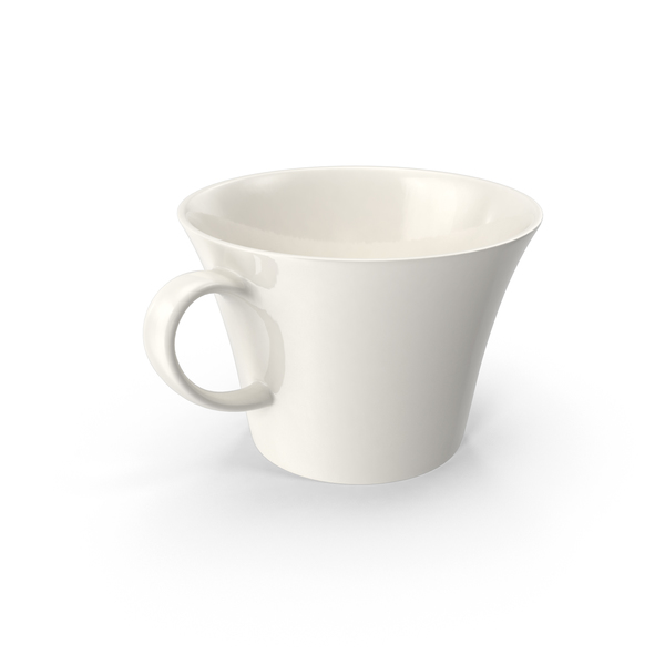 White Pearl Cup PNG & PSD Images