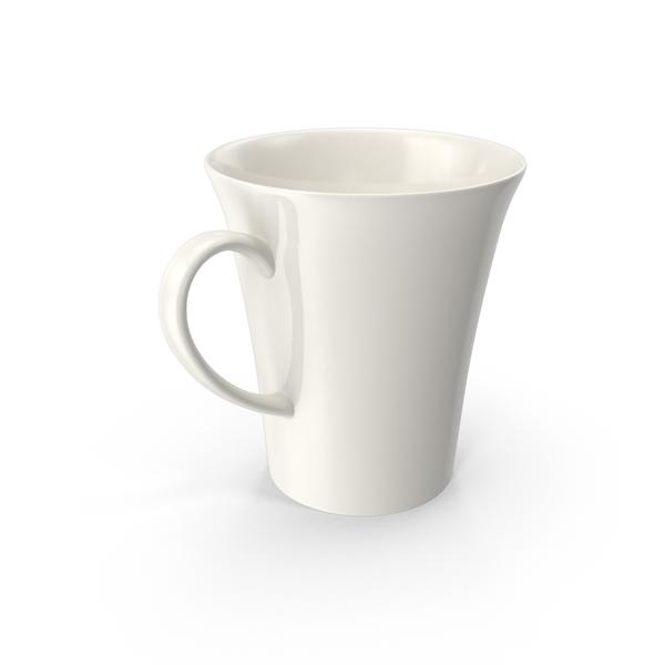 White Pearl Mug PNG & PSD Images
