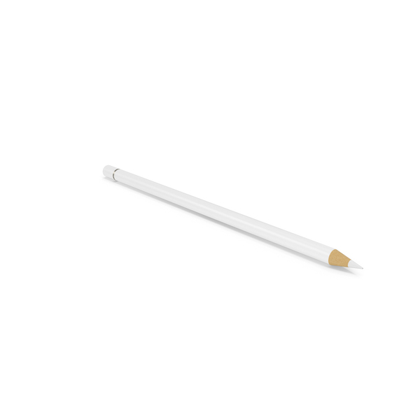White Pencil PNG & PSD Images