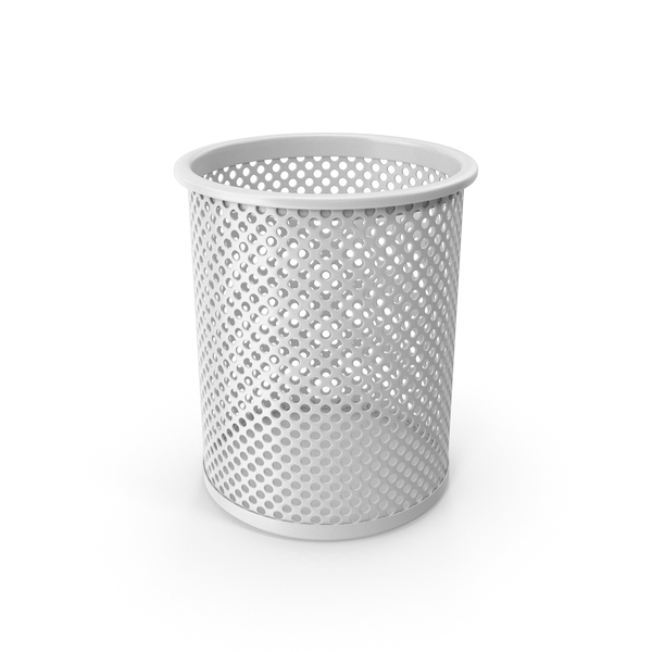 White Pencil Cup PNG & PSD Images
