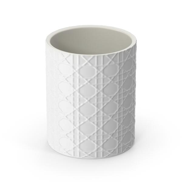 White Pisa Waste Basket PNG & PSD Images