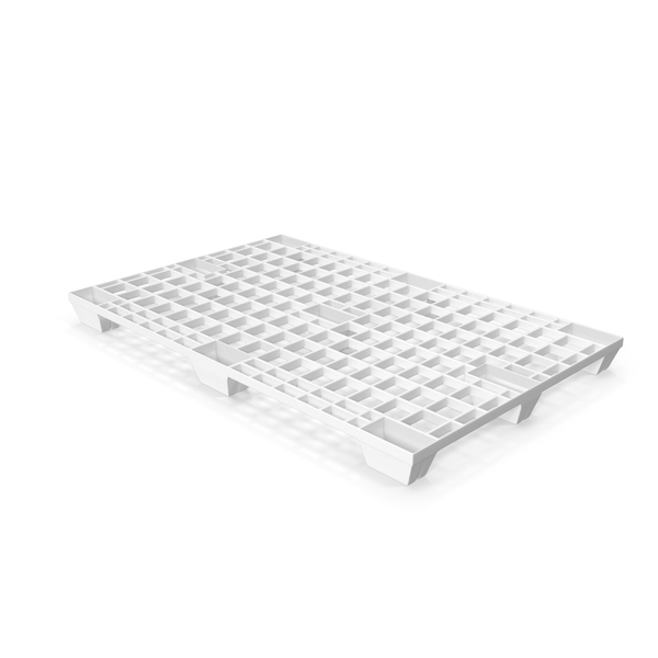 White Plastic Pallet PNG & PSD Images