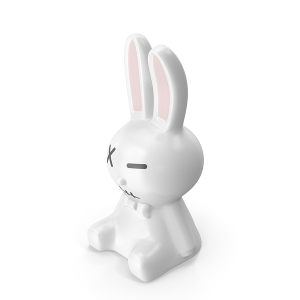 White Rabbit Statues PNG & PSD Images
