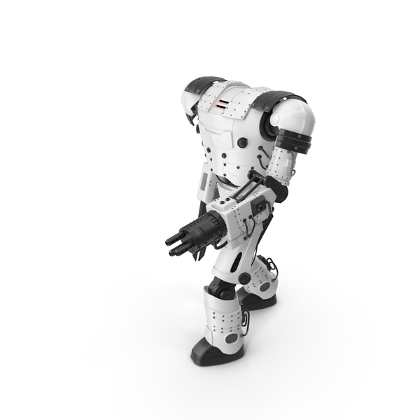 White Robot PNG & PSD Images