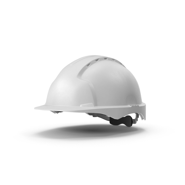 Hard Hat: White Safety Helmet PNG & PSD Images