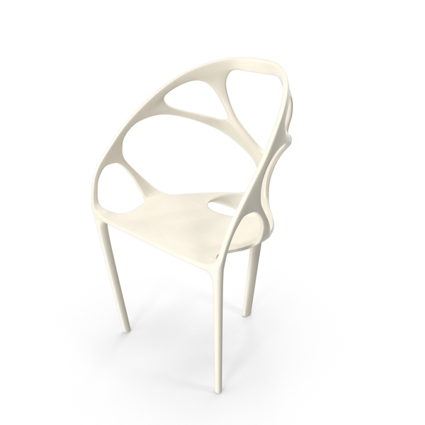 White Skeleton Chair PNG & PSD Images
