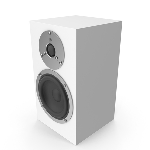 White Speaker PNG & PSD Images