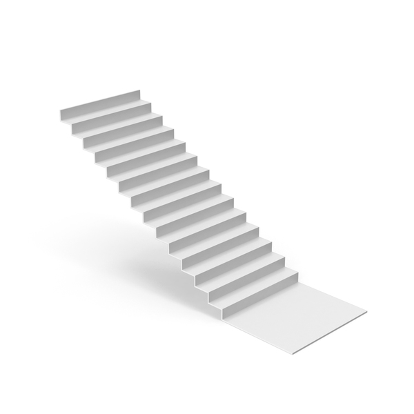 White Stair PNG & PSD Images