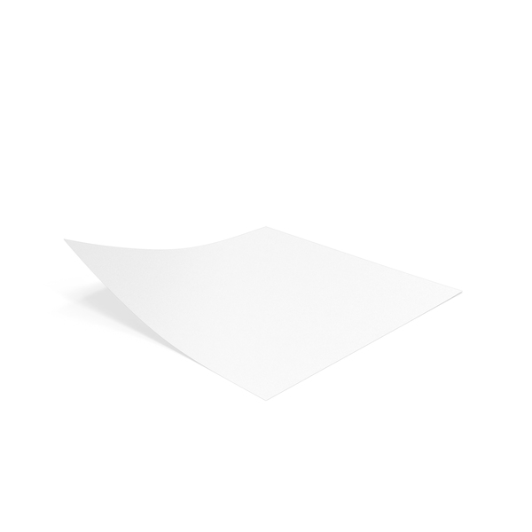 White Sticky Notes PNG & PSD Images