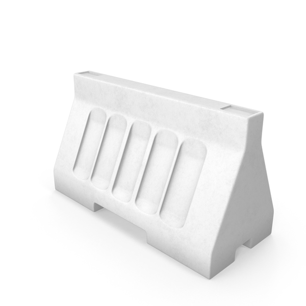 White Street Barrier PNG & PSD Images