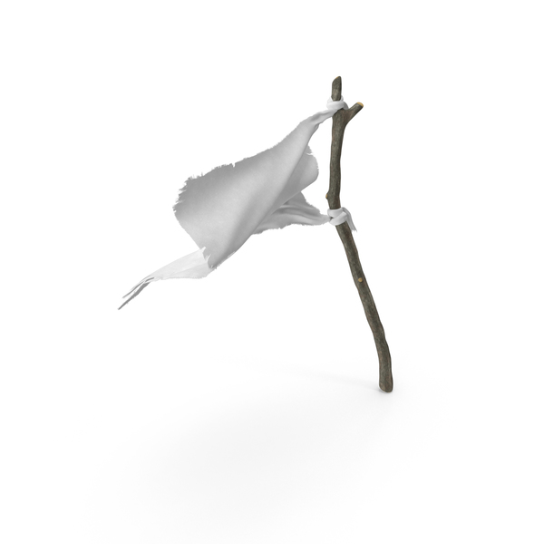 White Surrender Flag PNG & PSD Images