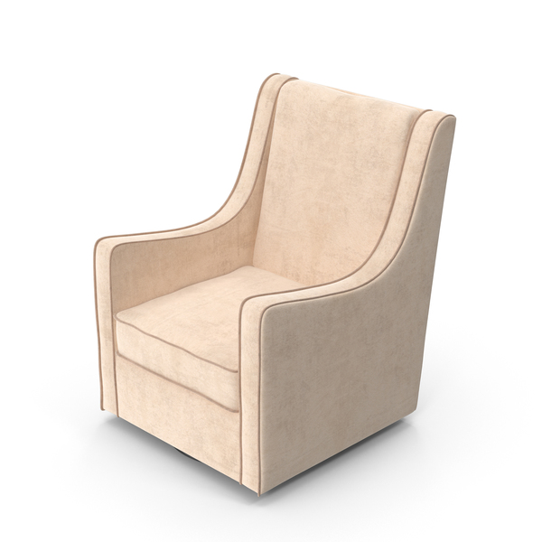 Arm: White Swivel Chair PNG & PSD Images