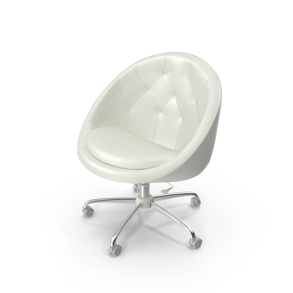 White Swivel Chair PNG & PSD Images