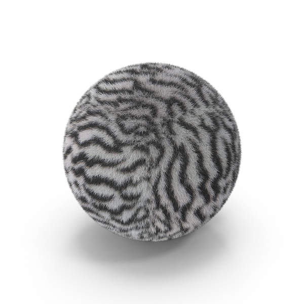 White Tiger Fur Ball PNG & PSD Images