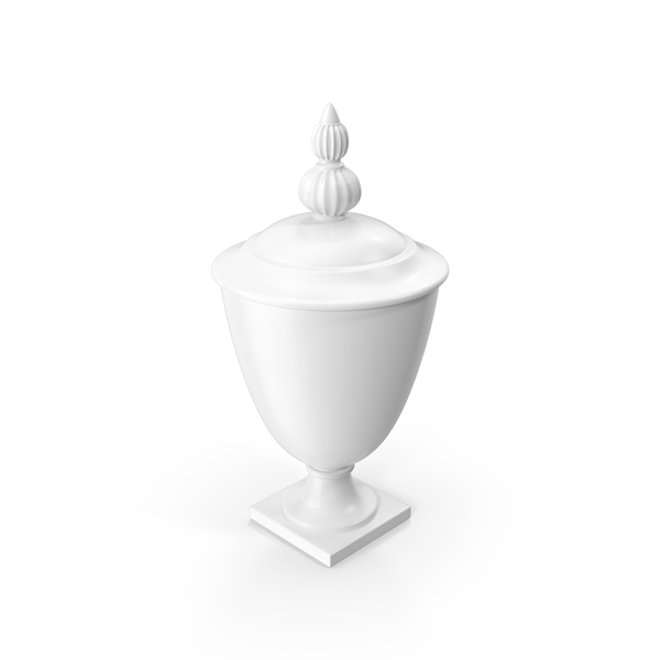 Antique: White Vase PNG & PSD Images