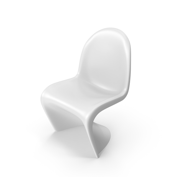 White Vitra Panton Chair PNG & PSD Images