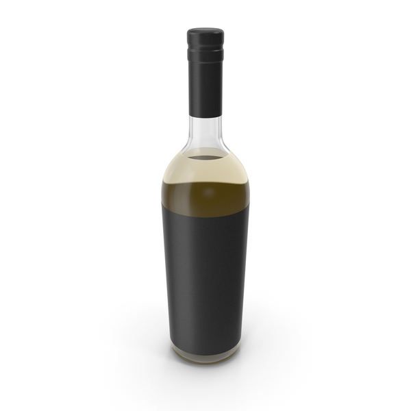 White Wine Bottle PNG & PSD Images