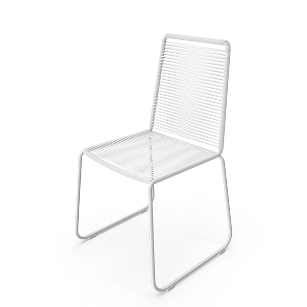White Wire Chair PNG & PSD Images