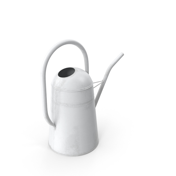 White_Watering_Can PNG & PSD Images