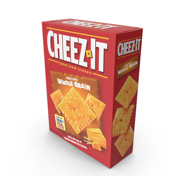 Whole Grain Cheez-It PNG & PSD Images
