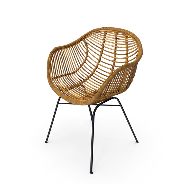 Wicker Chair PNG & PSD Images