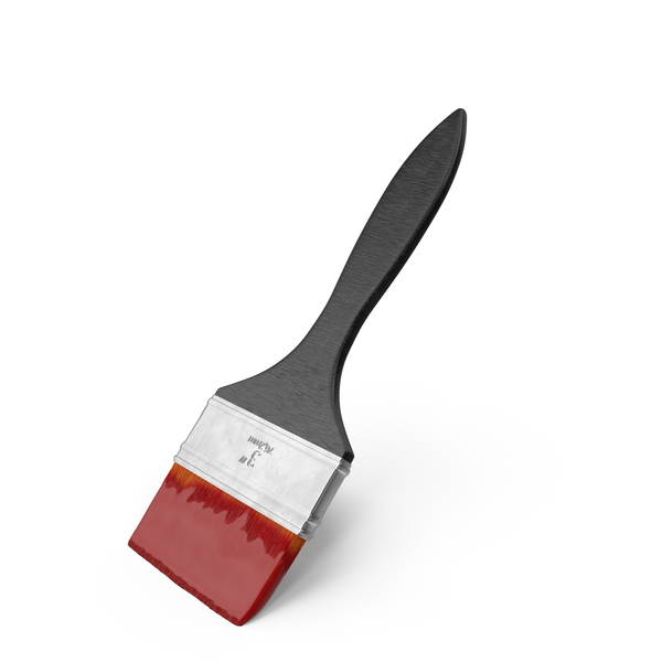 Wide Paint Brush Object