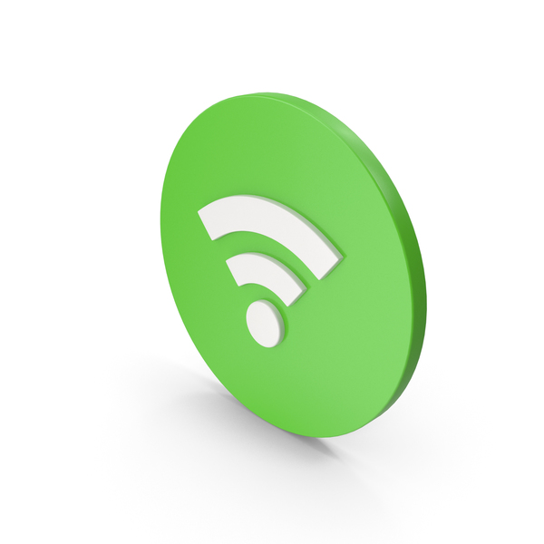 Wifi Icon Green PNG & PSD Images