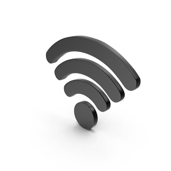 Wi Fi: WiFi Symbol Black PNG & PSD Images