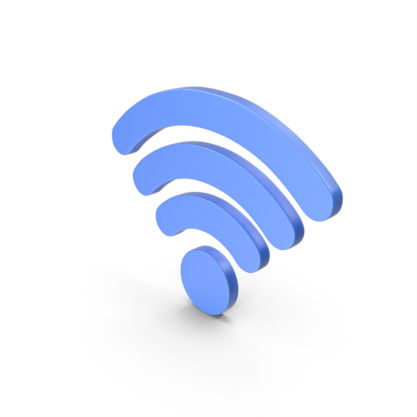 Wi Fi: WiFi Symbol Blue PNG & PSD Images