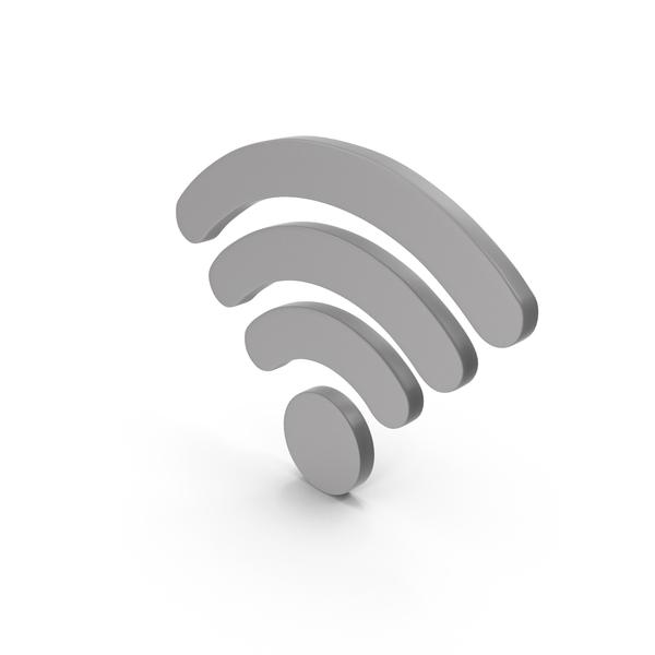 Wi Fi: WiFi Symbol Grey PNG & PSD Images