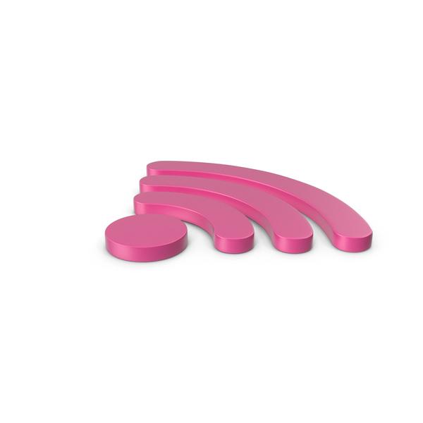 Wi Fi: WiFi Symbol Pink PNG & PSD Images