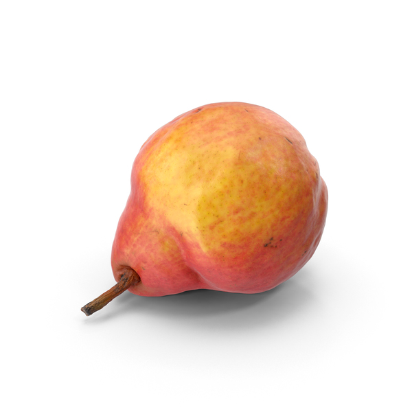 William Red Pear PNG & PSD Images
